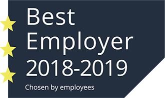Best Employer 2018-2019 Chosen by employees